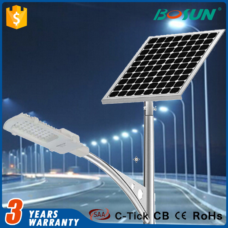 waterproof outdoor lighting die-casting aluminum solar led streetlight housing