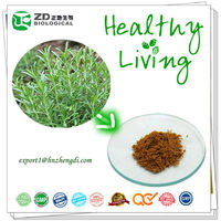 natural Spice herb extract solvent residue free Rosemarinic acid Carnosic acid from Rosemary leaves Rosemary extract