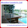 extruded aluminum handrail for swimming pool fence