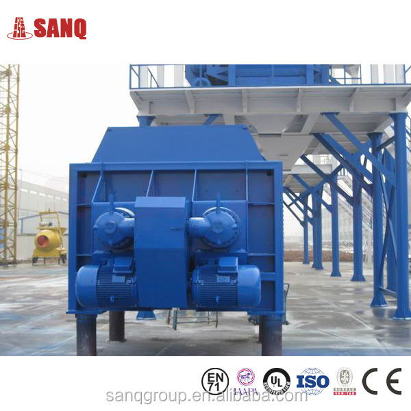Dischanrge Volume 2000L Stationary Concrete Mixer for sale