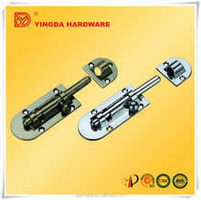 Hot sales manufacture supply security door bolt/deluxe bolt with high quality/metal door bolt