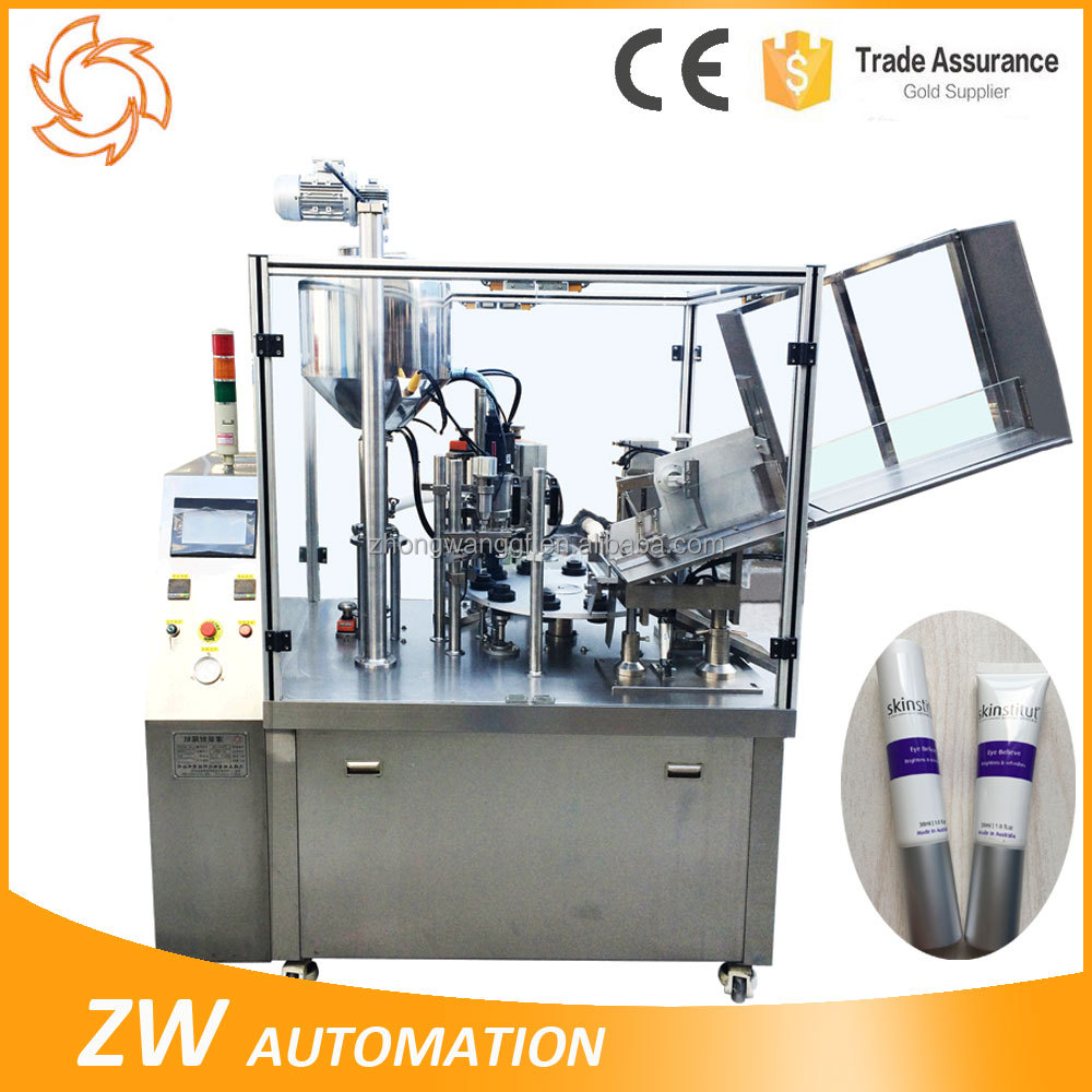 CE Soft Plastic Composite Tube Filling And Sealling Machine