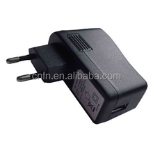 5V/2A USB Wall Mount AC Power Adapter, 100 to 240V AC, 50/60Hz, 0.5A Maximum Input