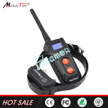 unique products made in china electrical training waterproof collar pet equipment with shock/vibrate/beep functions
