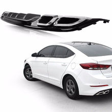 Front Bumper Skirt Lip Rear Diffuser Body Kit Painted For Elantra 2017+