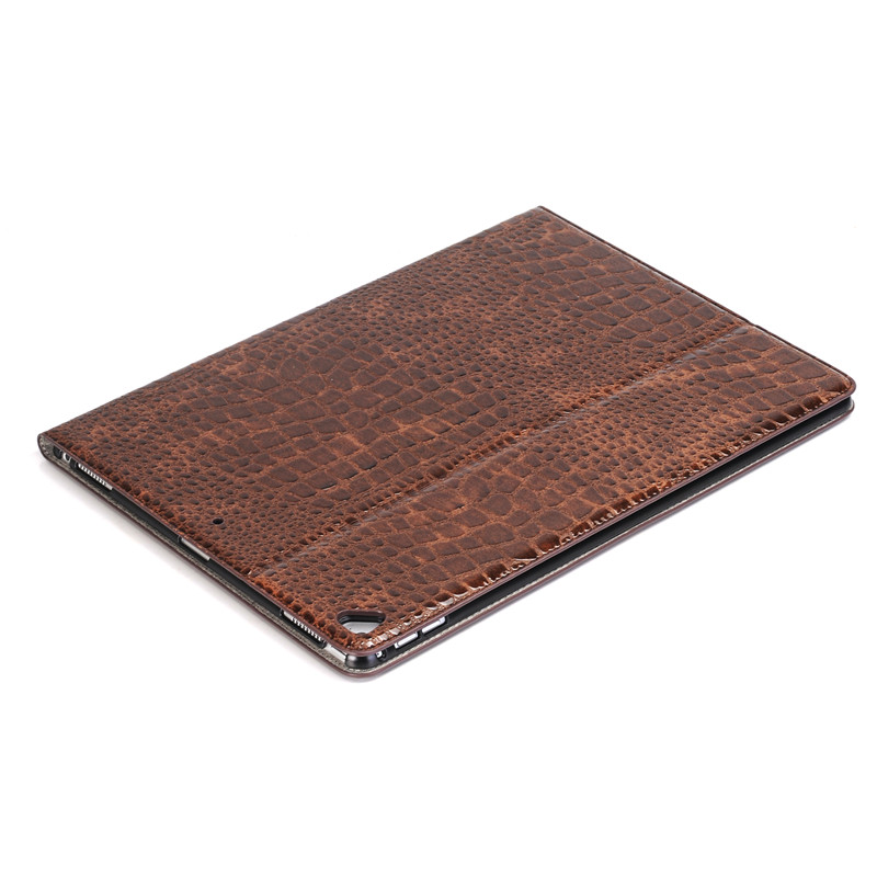New Released for ipad pro 12.9 case,Crocodile pattern leather case for ipad pro 12.9 2017 with stand function