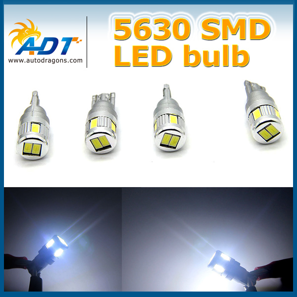 High Power T10 LED error free SS CHIP 5630 LED Bulb Canbus for AUDI A2 A3 A4 A6 A8 8L 8P B5 B6 B7 8H 4B 4F D2