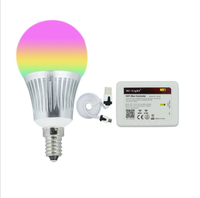 Milight E14 5W RGBCW RGBWW LED bulb with WIFI controller