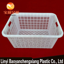 Stackable Vented Fruit Vegetable Plastic Crates For Sale
