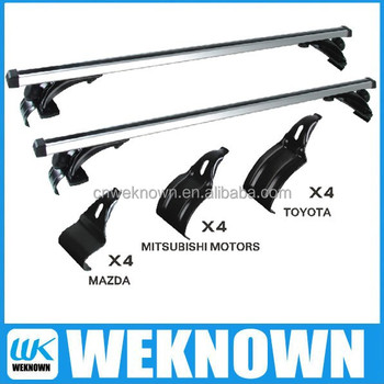 Roof rack side bar