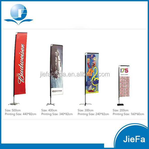 Cheap Price Feather/Beach Drop/Knife Shape Banner Flags