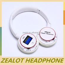 2014 new design wholesale cheaps computer accessory port wireless headphone made in China