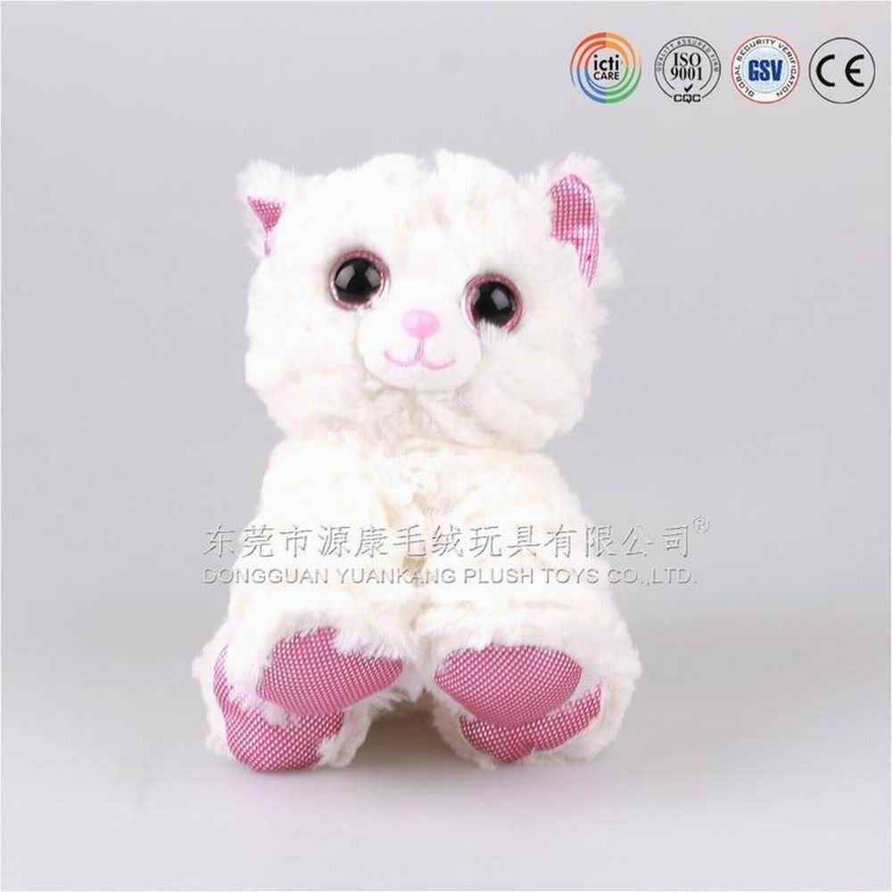 Hot and New Styles ICTI audits custom cat <strong>plush</strong>,cat toy in Dongguan,Guangdong ,China