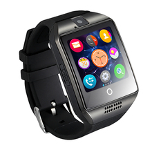 Top-selling MTK6260A 128M+64M 32 GB Ver 3.0 Bluetooth Smart Watch Phone Q18 Price of Smart Watch Phone