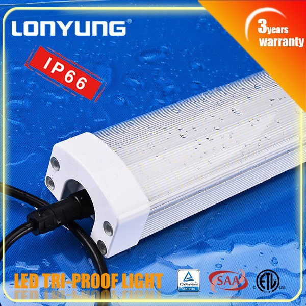 best prices IP65 0.6m/2ft Tri-proof LED Light lamp 20w 30w 40w 50w 60w waterproof led driver ip67