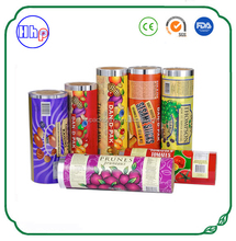 China manufacturer air proof custom printing cookies packaging roll film
