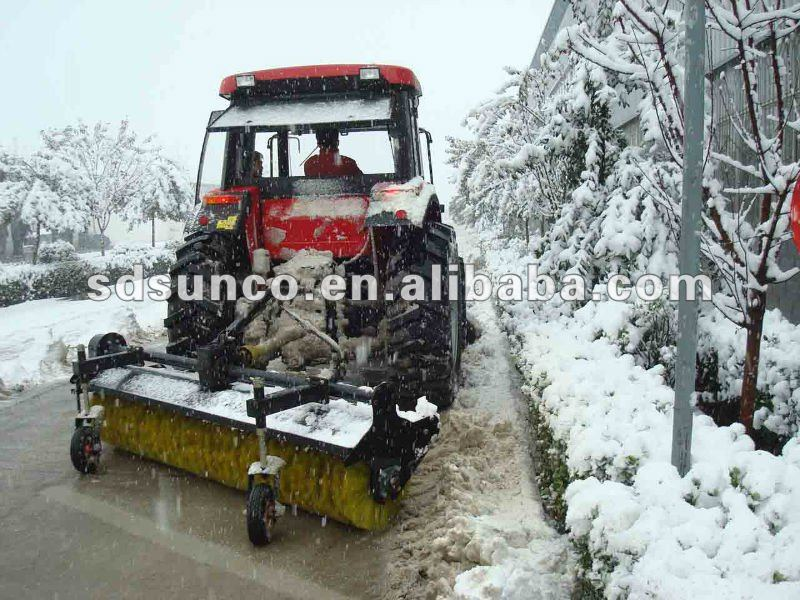 Snow Sweeping Machine