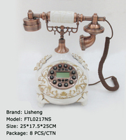 Old fashion fixed telephone fixed line telephone FTL0217