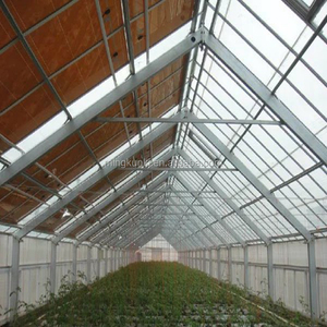 cheap price commercial plastic film greenhouses for mushroom