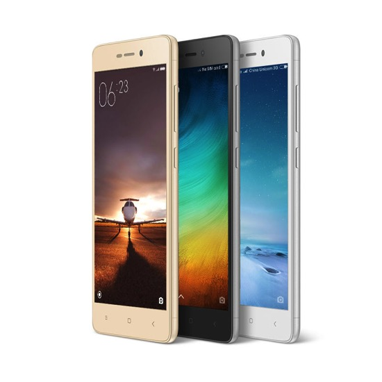 Advantage Xiaomi Redmi Red Mi 3S Pro Good Looking Auto Call Recorder 3GB RAM 32GB ROM Android 6.0 13MP Mobile Phone
