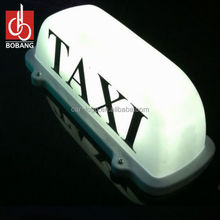 advertising car top led light box signage /taxi top light box signage