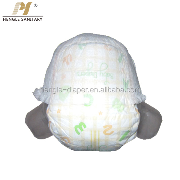Organic Bamboo fiber disposable baby diapers with high quality nappy pants