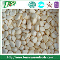 Frozen/IQF fresh garlic segments peeled new crop