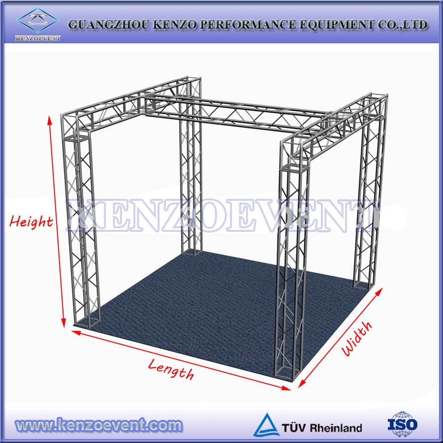 Aluminum truss system exhibition trade show booth system panel