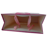 OEM production customized paper bag / directly factory price & good service