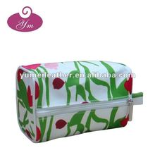 2012 new style cotton printing cosmetic bag