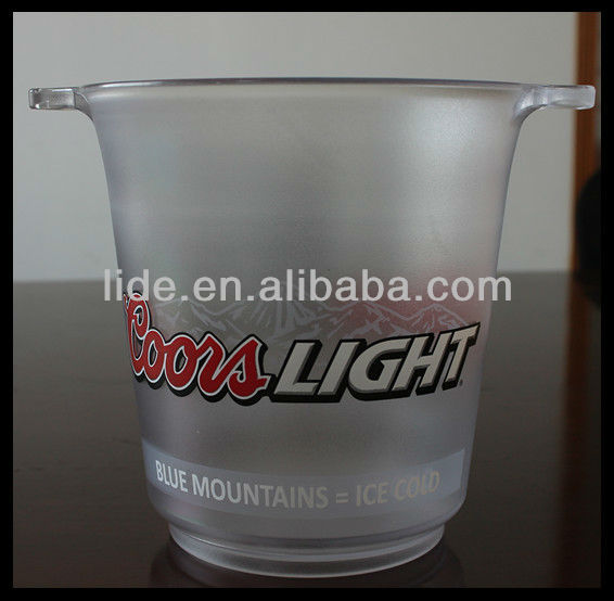 PS plastic ice bucket ics cooler