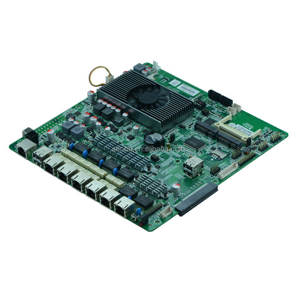 cheapest 1037u 6 lan ports motherboard with bypass support pfsense / routeros