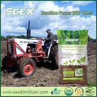 Organic microbe fertilizer treatment for traditional farming