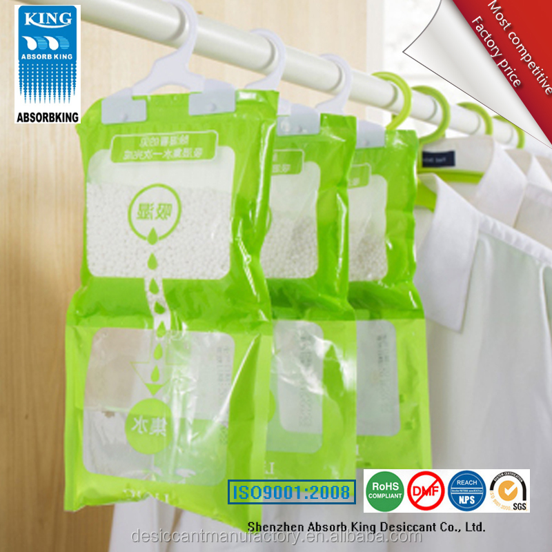 Dehumidifier Bag with Hanger.Release lavander fragrance and make air confortable