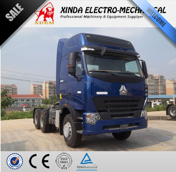 SINOTRUCK HOWO 6X2 336HP Hot Sale rc Tractor Trailer Truck Towing Trucks for sale HOWO-A7-G