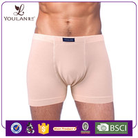 Bottom Price Pretty Modal Cotton Front Open Private Brand Man Thick Cotton Boxer Underwear