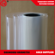 Single side silicone coated clear release film with customer order