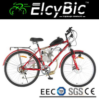 26inch s-stroke 80cc powerful engine motorcycle adult gasoline bicycle(E-GS204)