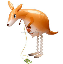 walking kangaroo balloon,walking pet balloon comes with lead