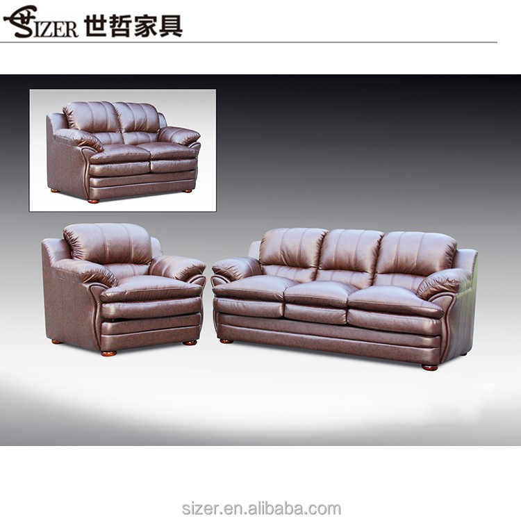 China Living Room leather sofa furniture for home