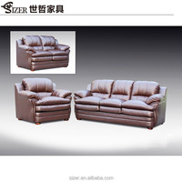 China Living Room Leather Sofa Furniture