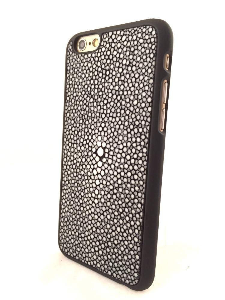 Genuine stingray skin mobile case