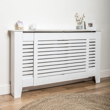 Unpainted E1 MDF Painted Grill Radiator Cover Cabinet <strong>shelf</strong>