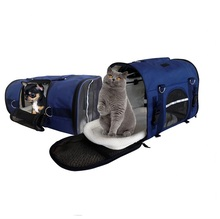 Foldable and Washable Pet Carrier Soft Pet Travel Bag