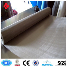 Pure nickel wire mesh screen for battery