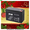 Maintance free ups battery 12v 7ah rechargeable AGM battery with best price
