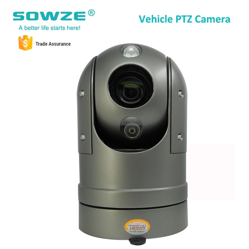2MP Waterproof Rugged 30X Optical PTZ Roof Mount Car Camera