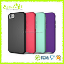 Newest Silicone PC Amour Phone Case for iphone7, hot For iphone 6 Accessories Mobile, Hot Selling Mobile Phone Cover