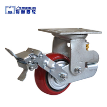 Hot sale 4.80 x 4.00-8 flat free wheel assembly