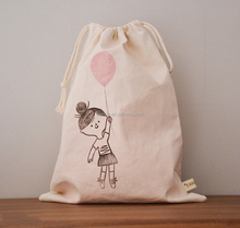 Disposable handmade embroidered cotton cloth laundry bag